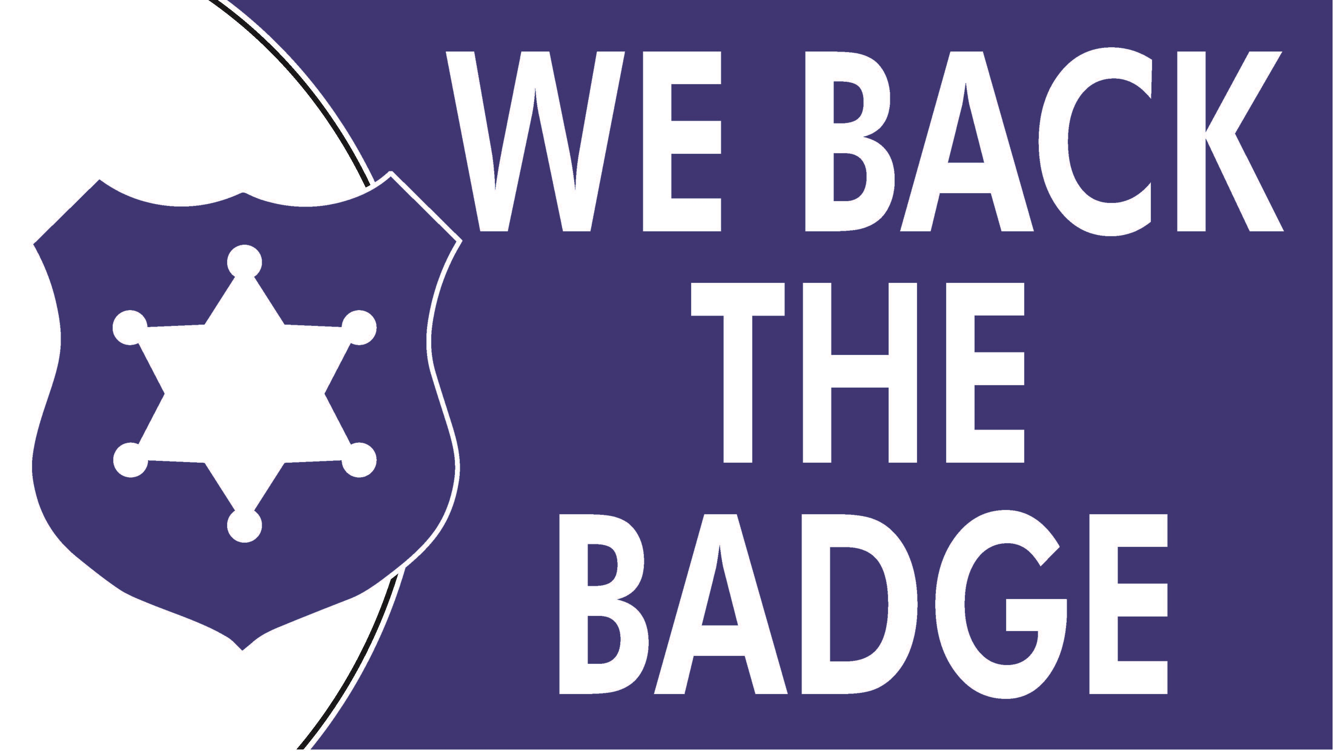 We Back The Badge